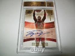 (POP1) 2004-05 SP Game Used SIGnificance'GOLD' Michael Jordan BGS10 AUTO 5/10