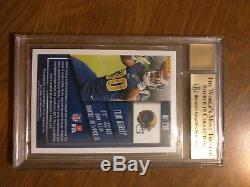 Todd Gurley Rams 2015 Panini Contenders #238A Rookie Card RC BGS 9.5 Auto 10 Gem
