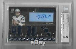 Tom Brady 06 Topps Paradigm Auto Autograph 7x Jersey Bgs 9 Auto 10 Card #42/99